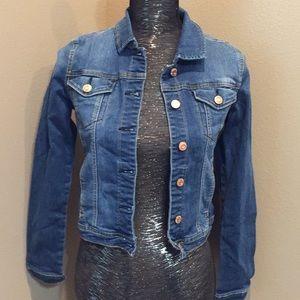 Kensie Jean Jacket size Small